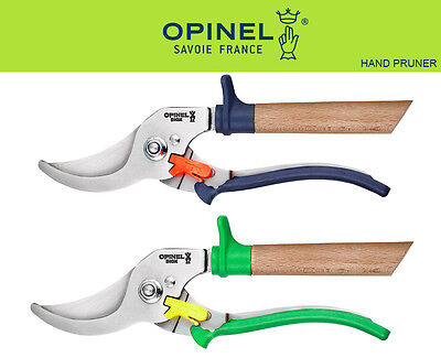 Opinel France Stainless Three Positions Hand Pruner Gardening Shears