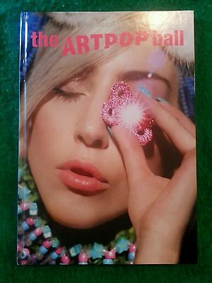 Lady Gaga 2014 artRAVE The ArtPop Ball VIP Tour Program Hardcover Book Concert