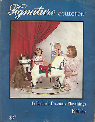 Signature Collection-Collector's Precious Playthings Catalog 1985-6