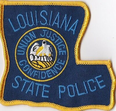 LOUISIANA STATE POLICE - SHOULDER - IRON or SEW ON PATCH
