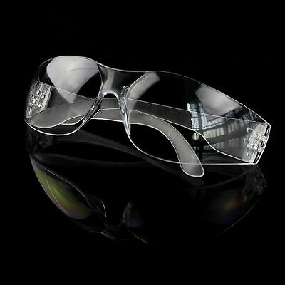 Vented Safety Clear Goggles Glasses Eye Protection Lab Work Anti Fog Eyewear NY