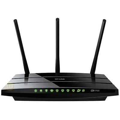 TP-Link Network ARCHER C7 Wireless Dual Band Gigabit Router 2.4GHz 5GHz USB