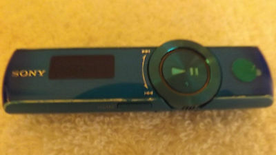 Sony 4GB MP3 Player with Clip and USB Connection - BLUE NWZ B173