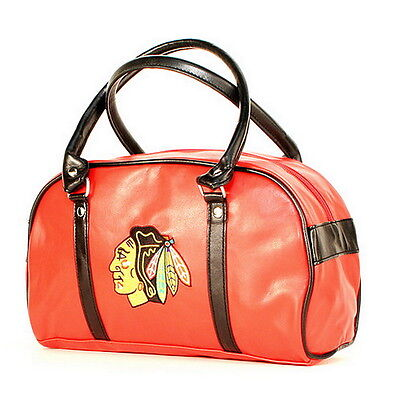 CHICAGO BLACKHAWKS NHL LICENSED FASTLANE BAG PURSE HANDBAG Great Looking NEW