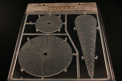 Warhammer 40k Templates Brand New in Box