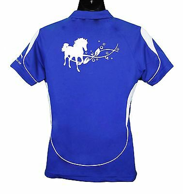 Horse Polo Shirt Horse With Vines Brand New #ps003