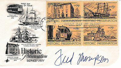 Fred Thompson - Watergate Conspirator - Personally Autographed First Day Cover
