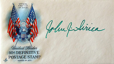John J Sirica - Watergate - Personally Autographed First Day Cover