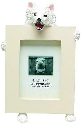 American Eskimo Picture Frame Holds Your Favorite 2.5 by 3.5 Inch Photo, Hand Pa