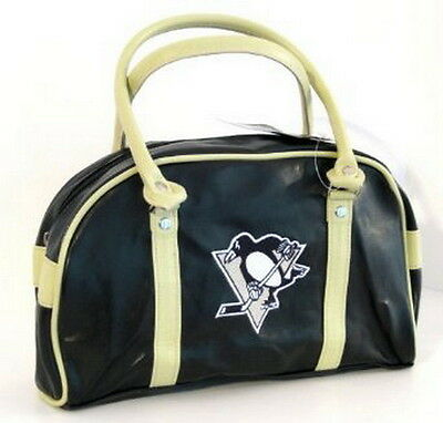 PITTSBURGH PENGUINS BAG PURSE HANDBAG NHL LICENSED FASTLANE Great Looking NEW
