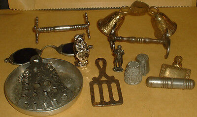 Collection Of Interesting Vintage Metal Items