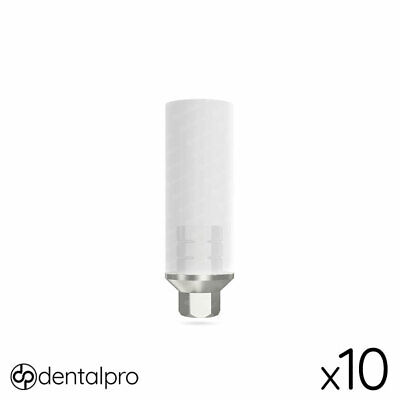 10 x UCLA Abutment Ti-Base Internal Hex With Screw For Dental Implant Abutments