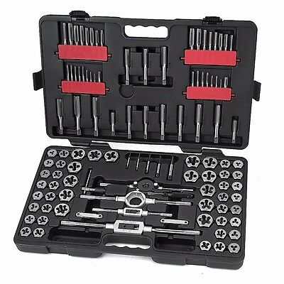 Craftsman 107 Pc Master Tap and Die Set, Carbon Steel, Metric/Standard SAE/MM
