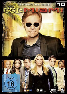 CSI MIAMI Complete Series 10 DVD 10th Tenth Final Season Ten New UK R2 C.S.I