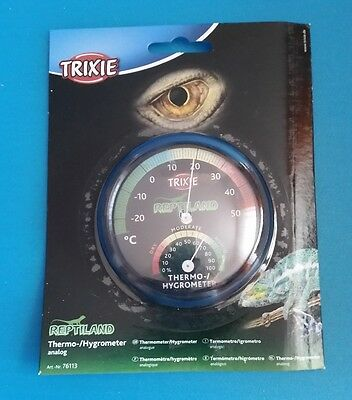 Trixie Reptiland Thermo Hygrometer analog