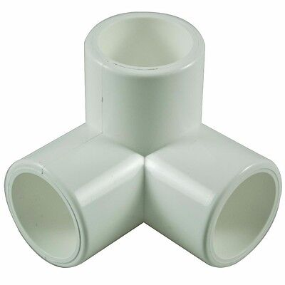 3 Way 15mm PVC Pipe, Cage Fittings, Schedule 40 pressure pipe