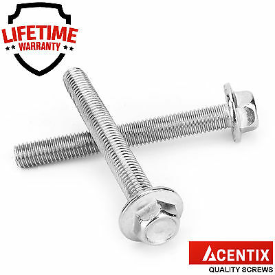 M5,M6,M8,M10 A2 Stainless Steel Flange Hex Hexagon Head Metric Bolts / Screws