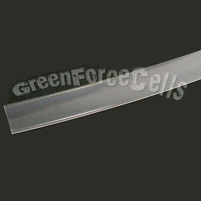2m 10mm Transparent Tube Gaines Gaine Thermo Rétractable 2000mm