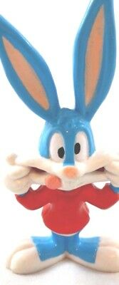 """PVC Toy Buster Bunny Tiny Toons Warner Brothers Looney Tunes WB Topper Lot 3.5"""""""