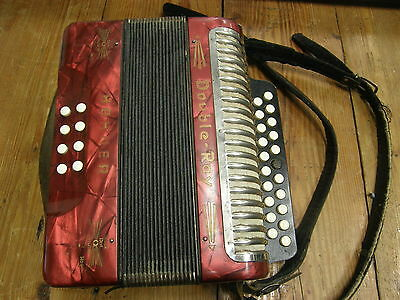 Hohner Vintage Black Dot Double Ray Accordian