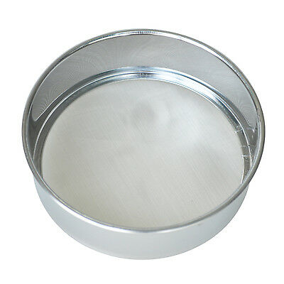 Kitchen Round Mesh Sugar Flour Sifter Strainer - Stainless Steel DT