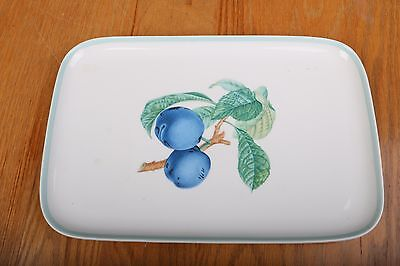 Mottahedeh Vista Alegre Portugal Blueberry Pattern Plate Platter Tray