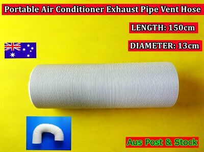 Portable air conditioner Spare parts Exhaust pipe vent hose only (150cm x 13cm)