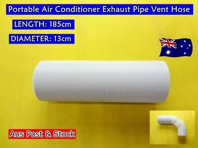 Portable Air Conditioner Spare Parts Exhaust Pipe Vent Hose Only (180cmx13cm)