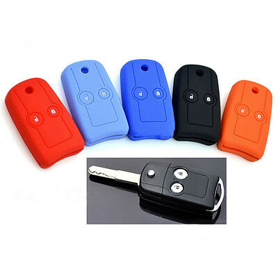 Silicone car key cover case for Honda 2 Buttons Accord CRV Civic FIT Pilot