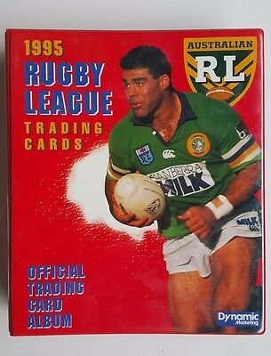 1995 Rugby League Collector Cards Dynamic Marketing Series 1 & Series 2 Sets