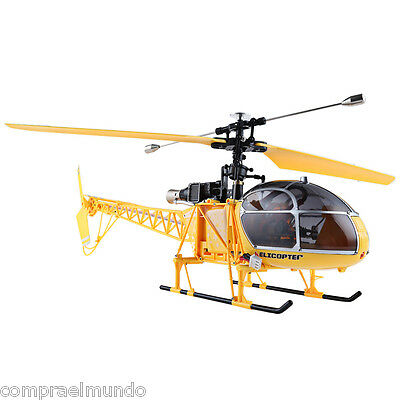 WLtoys V915 Lama 4CH 2.4G 6 Axis Gyro 2 Modes RC Helicopter Single Propeller RTF