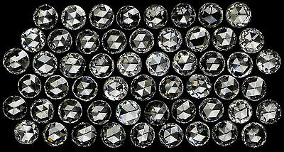 Real 100% Natural Loose Rose Cut Round Diamonds VVS-VS G H Color 1 pcs N1