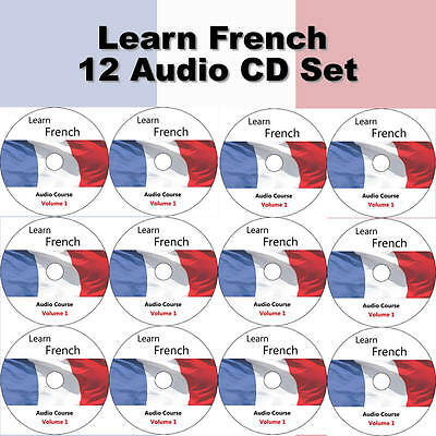 Learn French In A Week - Complete Language Training Course on 12 AUDIO CD