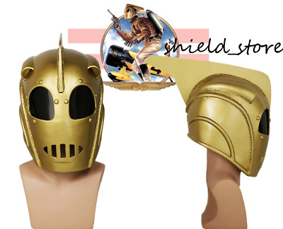 Halloween Mask The Rocketeer Helmet Cliff Secord Cosplay Mask Props Adult