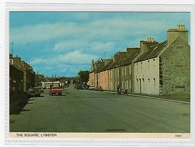 THE SQUARE, LYBSTER: Caithness postcard (C19683)