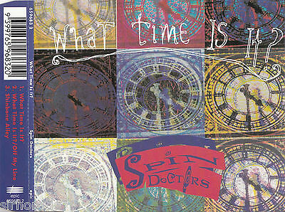 SPIN DOCTORS What Time Is It? CD Single - Promo