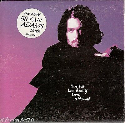 BRYAN ADAMS Have You Ever Really Loved A Woman?  CD Single