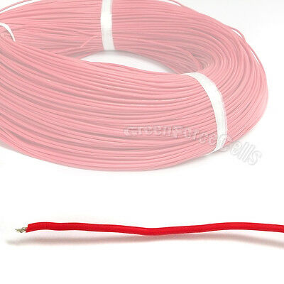 1M Rouge 22 AWG Silicone Doux Fil câble 300V 150°c 3239