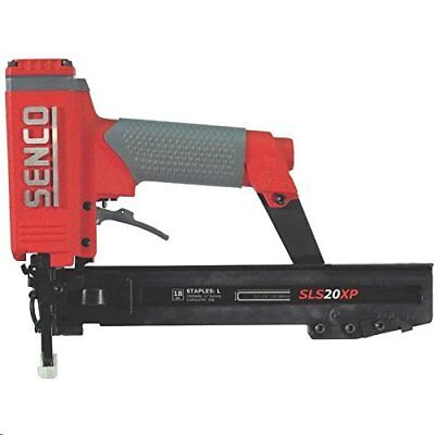"Senco 490105N XtremePro SLS20XP-L 1/4"" Narrow Crown Pneumatic Stapler with Case"