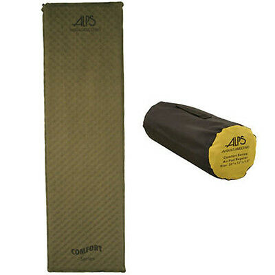 ALPS Mountaineering Comfort Series Air Pad Moss Long