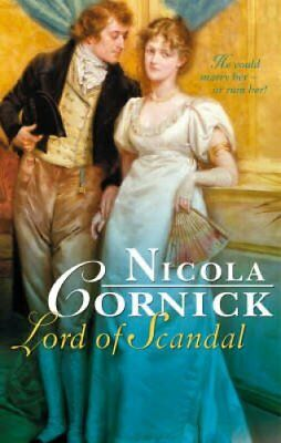 Lord of Scandal by Nicola Cornick 9780263865868 (Paperback, 2008)