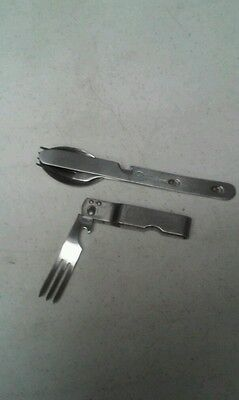 Boy Scouts Folding Fork And Opener And Coghlans Set