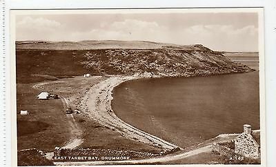 EAST TARBET BAY, DRUMMORE: Wigtownshire postcard (C3736).