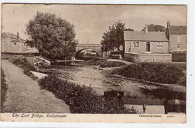 THE LEET BRIDGE, COLDSTREAM: Berwickshire postcard (C4746)