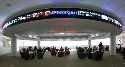 LED Sign Scrolling Message Board Programmable Full Colour Indoor Semi-Outdoor