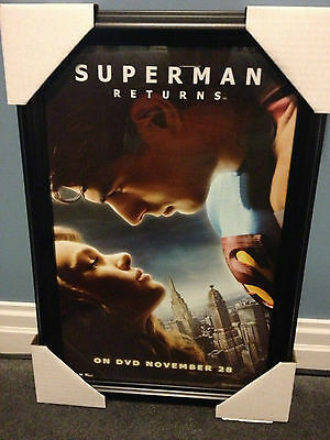 """SUPERMAN RETURNS"" FRAMED PICTURE (#1 of 3)"
