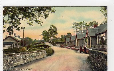 THE HOLLOWS, GILNOCKIE: Dumfriesshire postcard (C3542).