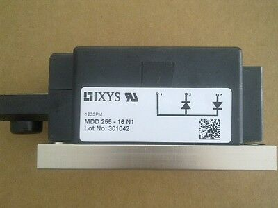 MDD255-16N1 IXYS 270A, 1600V, SILICON, RECTIFIER DIODE (1 Per)