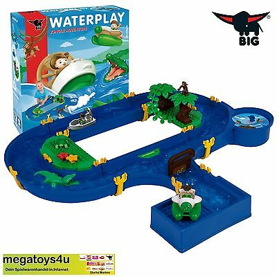 BIG 55134 - Waterplay, Jungle Adventure Wasserbahn Dschungel * NEU & OVP *