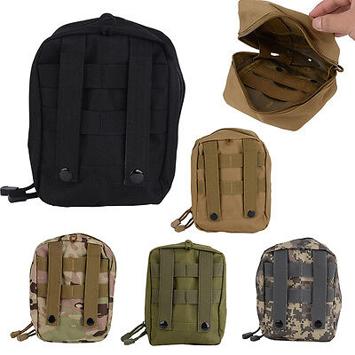 Airsoft Molle Tactical Medical Bag Military First Aid Sling Pouch Bag Case Nylon